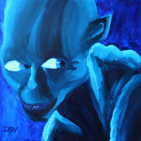 Painting of a goblin